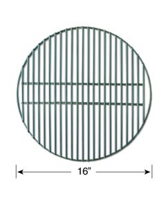 "Smokeware 16"" Stainless Steel Replacement Grate for Medium Big Green Egg"