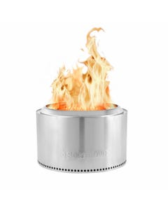 """Solo Stove Yukon - Smokeless & Portable Wood Burning Fire Pit in Stainless Steel, 27"""" Diameter"""