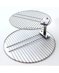 All Things Barbecue Grate Stacker Combo for Kamado Joe