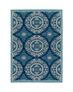 Surya Marina Blue Floral Rug