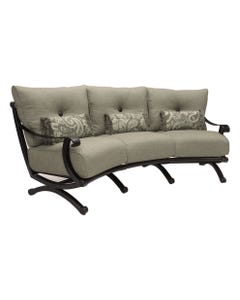 Telluride Cushioned Crescent Sofa