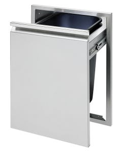 """Twin Eagles 18"""" Tall Trash Drawer with Trash Can"""