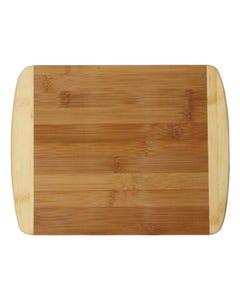 """Totally Bamboo Two-Tone Bamboo Cutting Board, 11"""" x 8 7/8"""""""