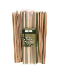 "Totally Bamboo 12"" Bamboo Flat Skewers, 50 Pack"