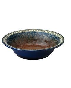 "Merritt 8"" Coral Sandstone Round Melamine Bowl"