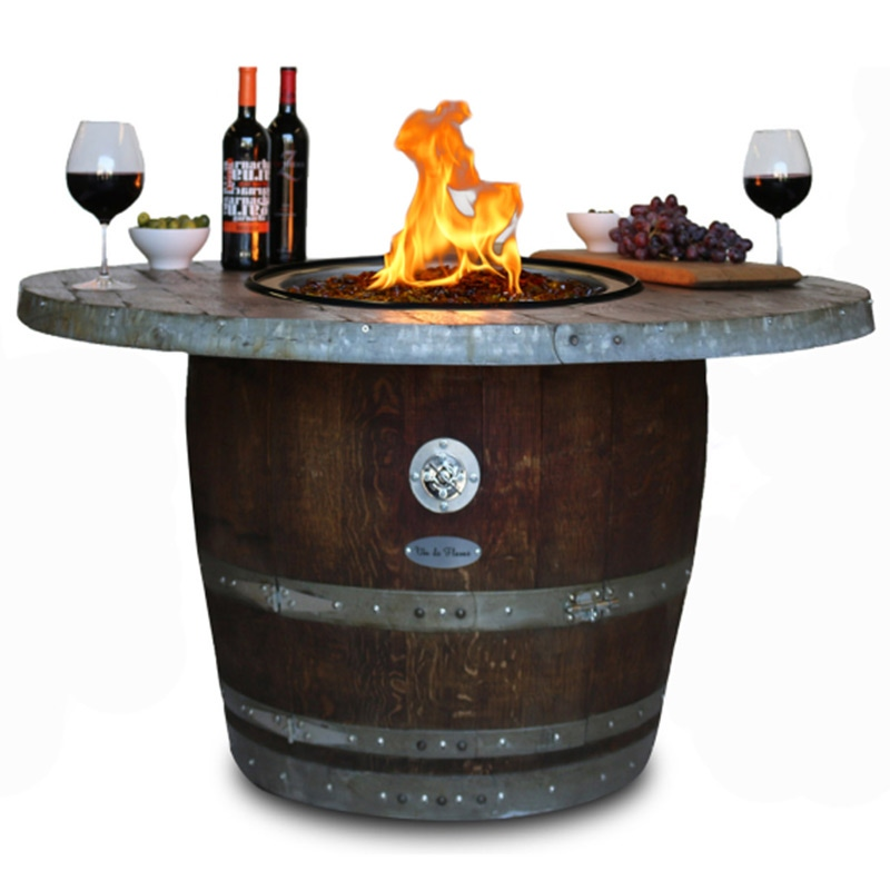 Vin de Flame Estate Wine Barrel Fire Pit