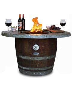 Vin de Flame Estate Wine Barrel Fire Pit