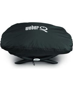 Weber Q Grill Cover for Q 200 and 2000 Series Gas Grills, 7111