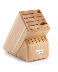 Wusthof 17 Slot Natural Knife Block