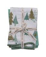 Green Tea Towels