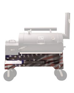 Yoder Smokers YS1500 Competition Cart Magnetic Wrap - American Flag
