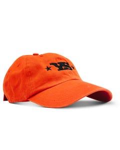 Yoder Smokers Twill Hat, Orange