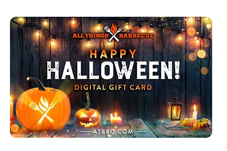 Halloween Gift Card