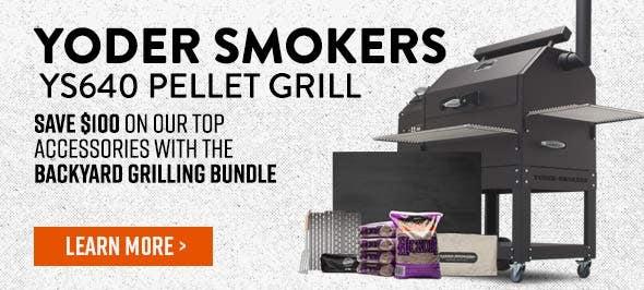 Yoder Smokers YS640 - Backyard Grill Bundle