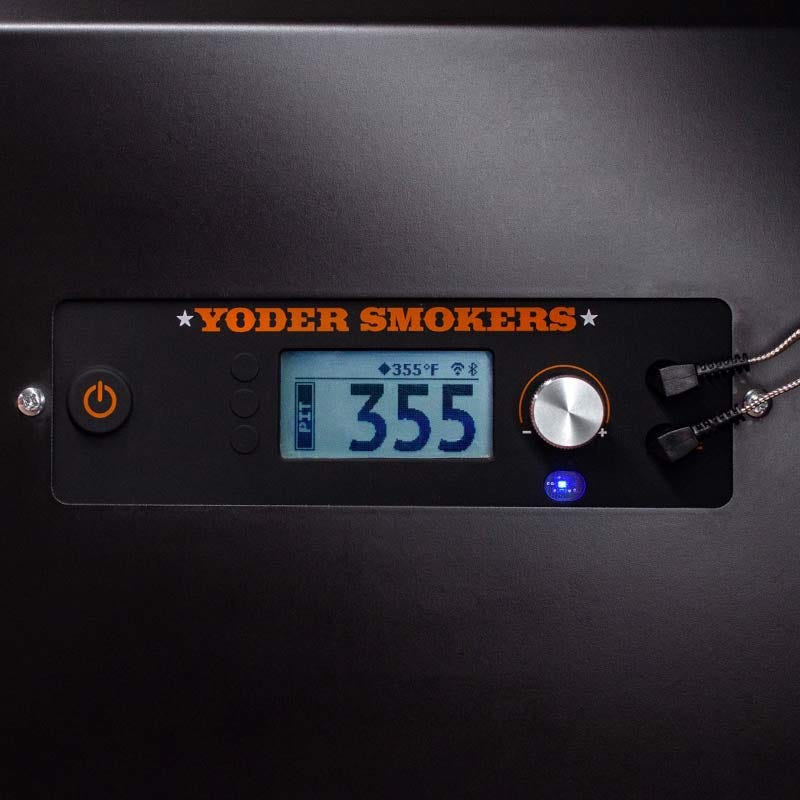 Yoder Smokers YS640 Standard Cart Pellet Grill ACS with FIreBoard