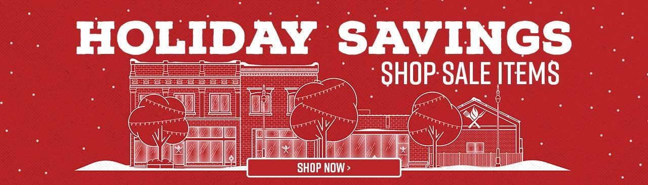 Holiday Savings - Shop Sale Items