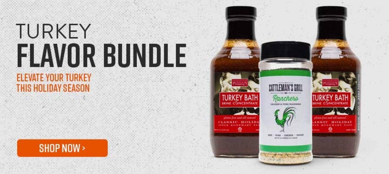 Turkey Flavor Bundle - Elevate Your Turkey This Holiday Season