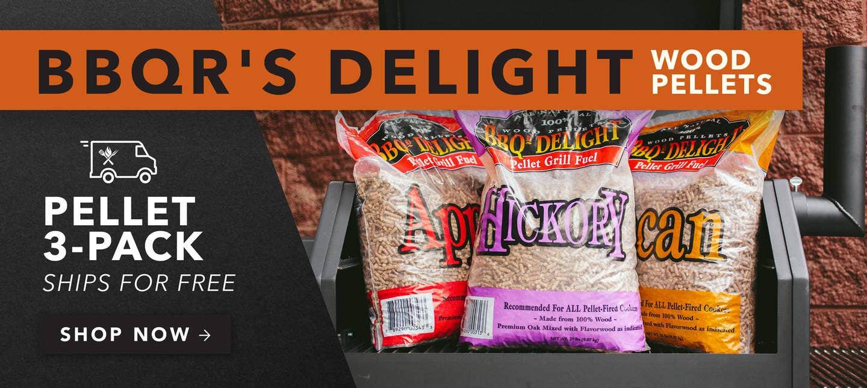 BBQr's Delight Wood Pellet 3 Pack