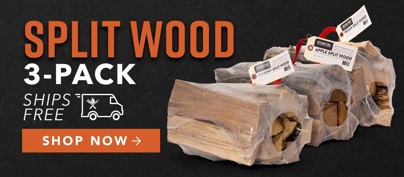 Cattleman's Grill Split Smoking Wood Three Pack