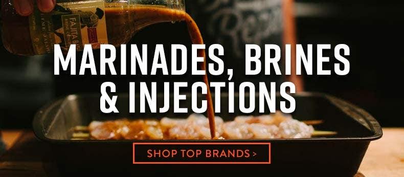 Marinades, Brines & Injections