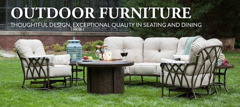 Outdoor Furniture - Thoughtful design, exceptional quality in seating and dining.