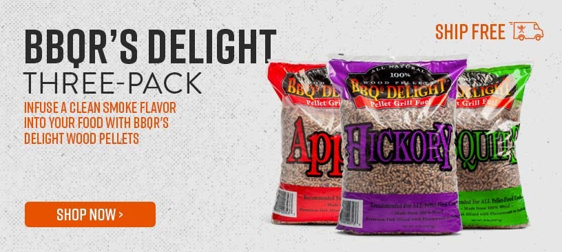 Infuse a clean smoke flavor into your food with BBQR's Delight Wood Pellets