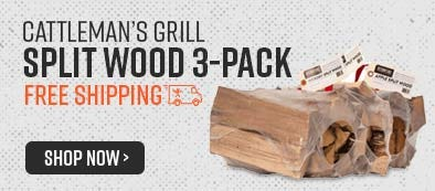 Cattleman's Grill Split Wood 3-Pack