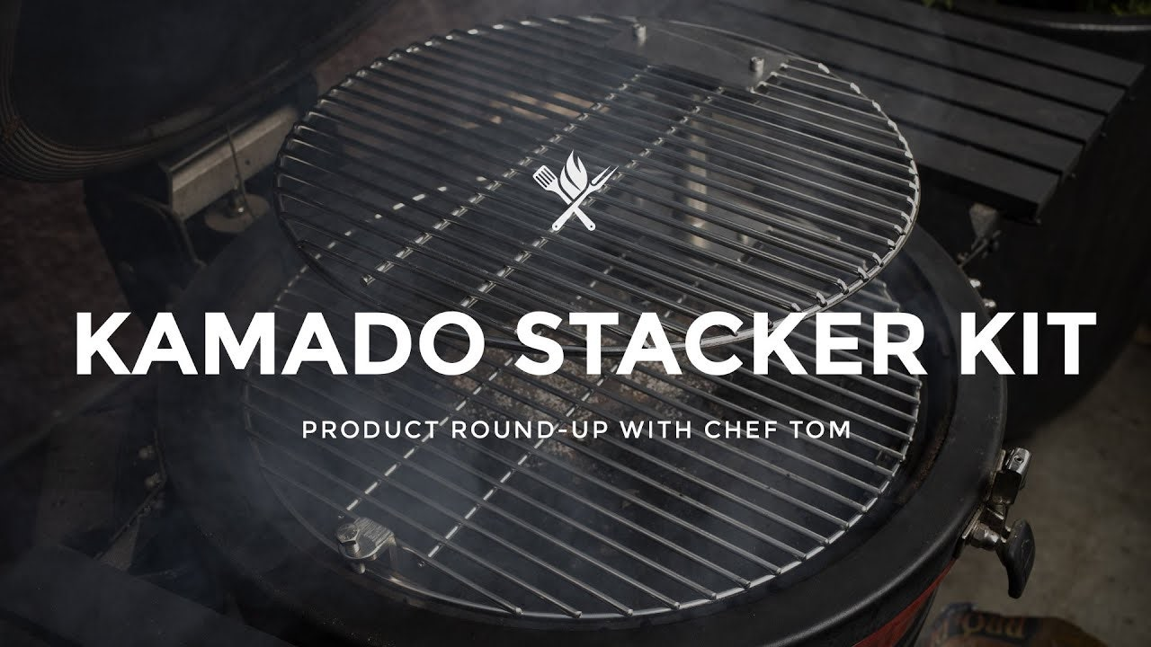 Kamado Stacker Kit Overview