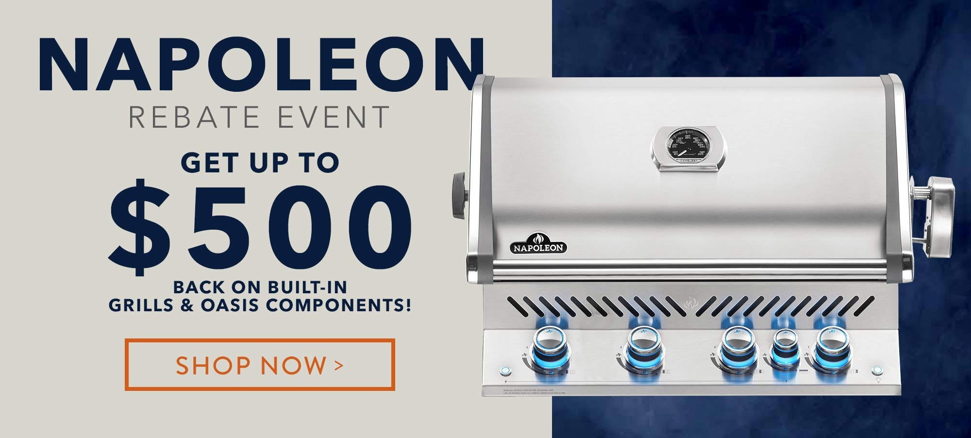 Napoleon Gas Built-in Grill Rebates