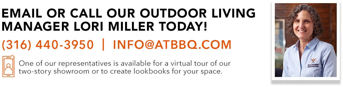 Email or call our Outdoor Living Manager today!