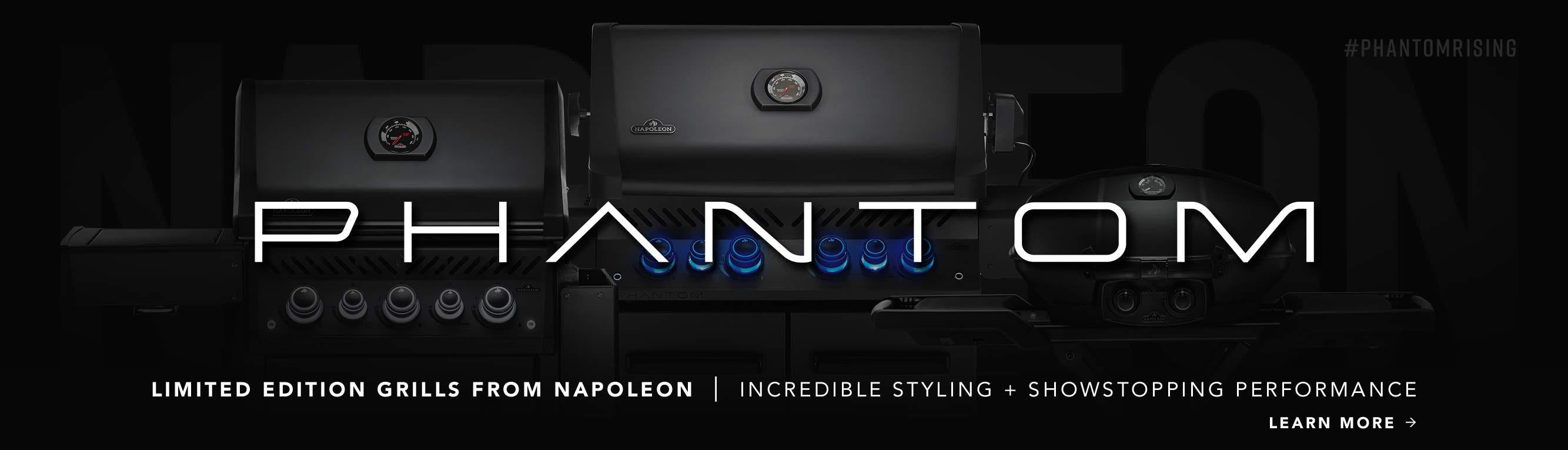 Introducing Napoleon Phantom Series Grills