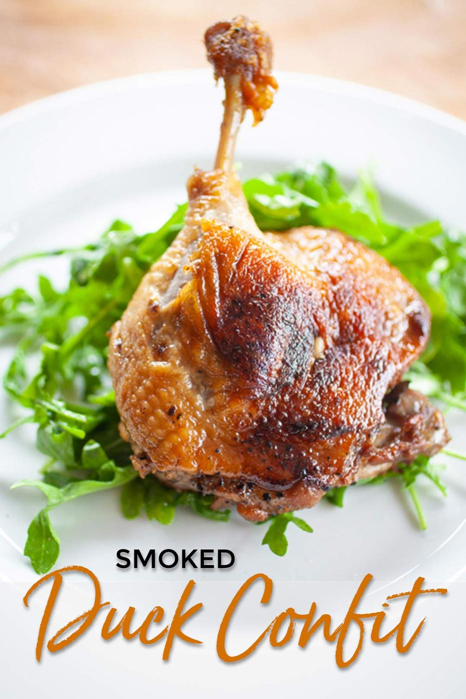 Recipe for Smoked Duck Confit
