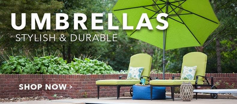 Umbrellas - Stylish & Durable