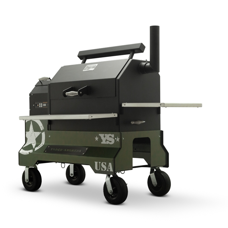 YS640 Competition Cart Magnetic Wrap, Military Green