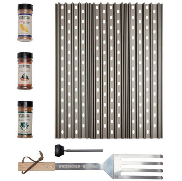Optional Serious Grilling Kit