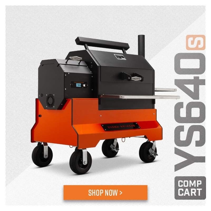 Shop Yoder Smokers YS640s Pellet Grill with ACS on Competition Cart