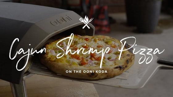 Cajun Shrimp Pizza