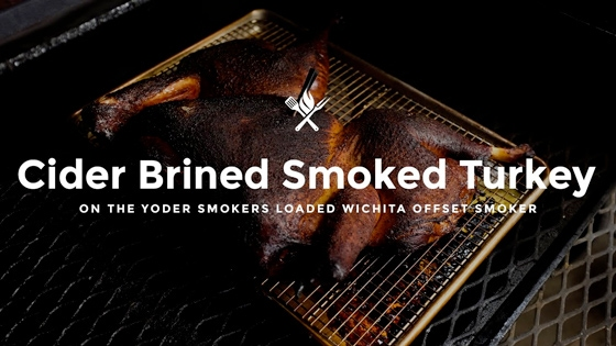 How to Make Cider Brined Barbecue Turkey