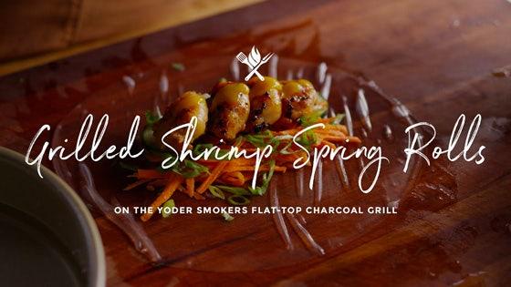Grilled Shrimp Spring Rolls