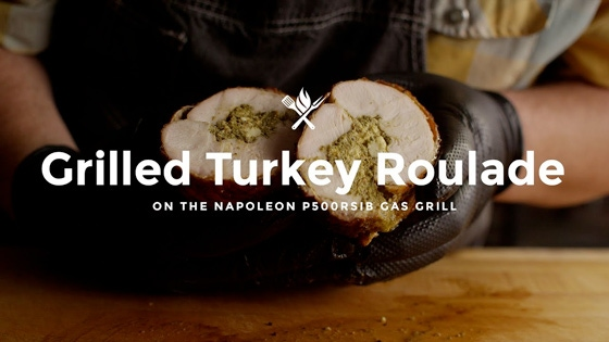 How to Make Grilled Turkey Roulade