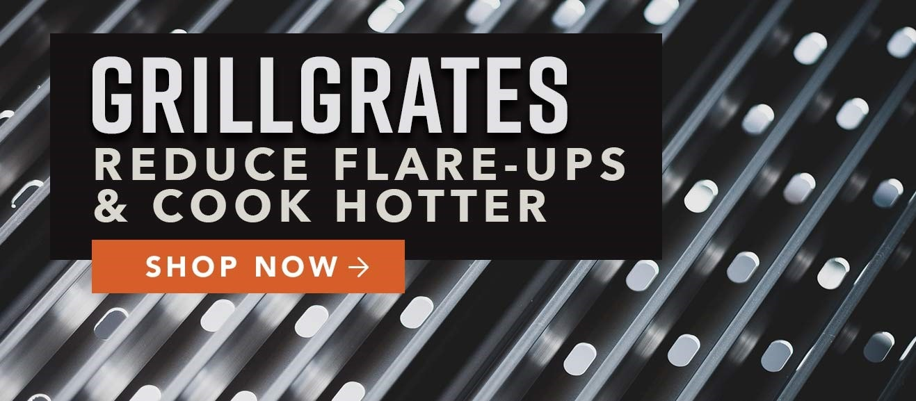 GrillGrates - Reduce Flare-Ups & Cook Hotter