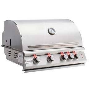 "Blaze Grills Premium LTE 32"" 4-Burner Gas Grill with Rear Burner and Built-In Lights"