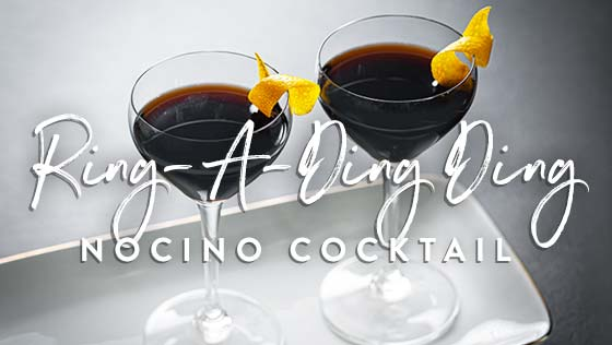 Ring-A-Ding Ding – Nocino Cocktail