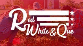 Red, White & Que