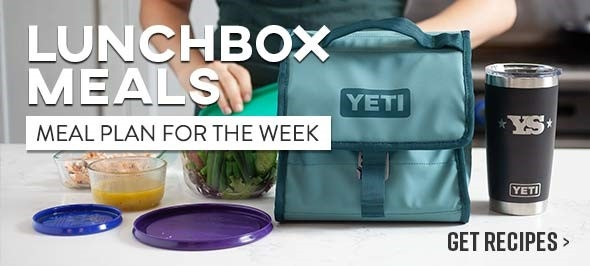 Lunchbox Meals - Meal Plan for the Week