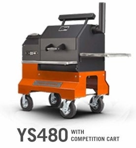 Yoder Smokers YS480 with Competition Cart