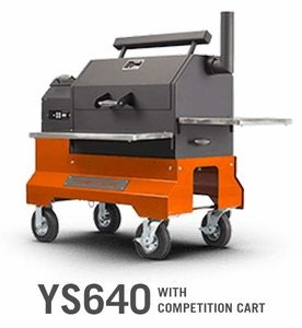 Yoder Smokers YS640 with Competition Cart