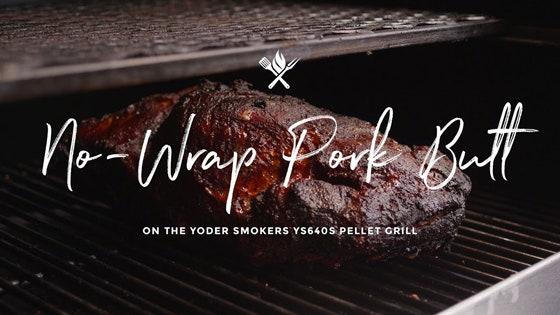 No-Wrap Pork Butt