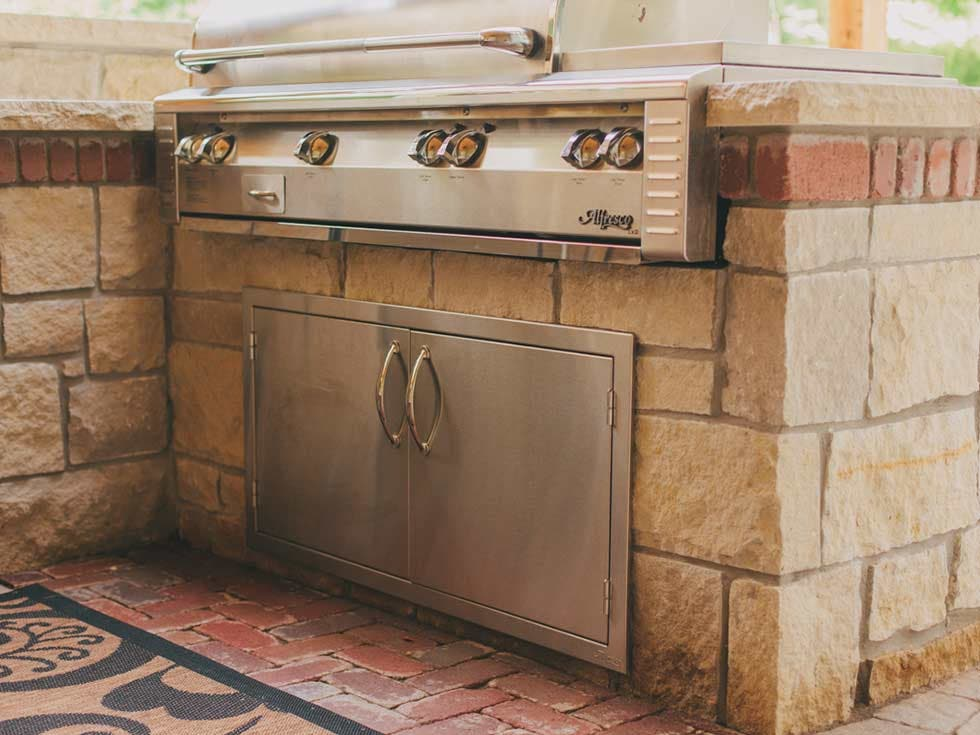 Outdoor Kitchen Side Burners
