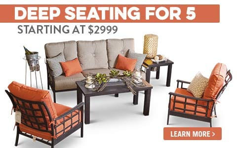 Deep Seating for 5